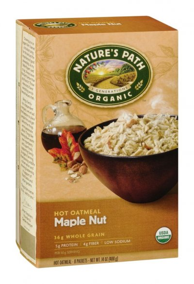 Instant Hot Oatmeal, Maple Nut