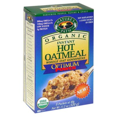 Instant Hot Oatmeal, Optimum Power