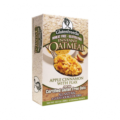 Instant Oatmeal, Apple Cinnamon with Flax