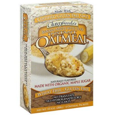 Instant Oatmeal, Banana Maple with Flax