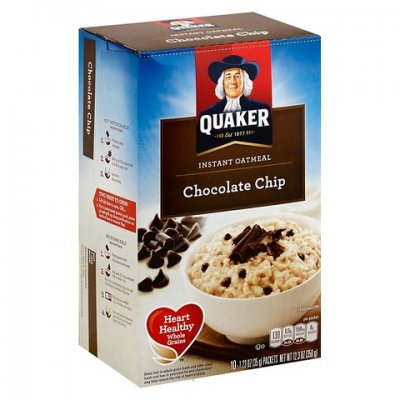 Instant Oatmeal, Chocolate Chip