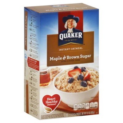 Instant Oatmeal, Maple