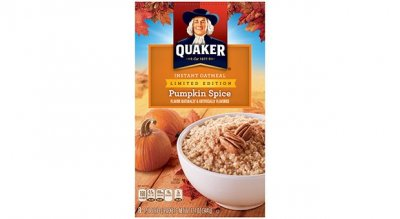 Instant Oatmeal,Limited Edition Pumpkin Spice 12 Oz