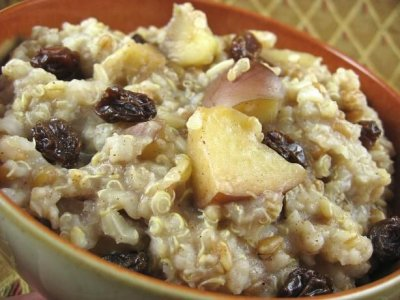 Multigrain Hot Cereal, Apples & Cinnamon