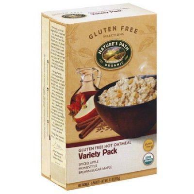 Organic Hot Oatmeal, Brown Sugar Maple, Variety Pack