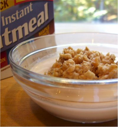 Organic Instant Oatmeal, Maple & Spice Flavored
