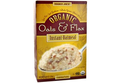 Organic Instant Oatmeal With Oats And Flax