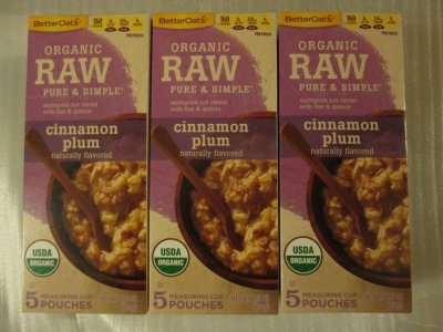 Organic Raw Pure & Simple Multigrain Hot Cereal