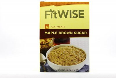 Sugar Free Instant Oatmeal Maple And Brown Sugar