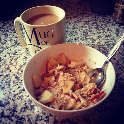 Apple Cinnamon Hot Oats