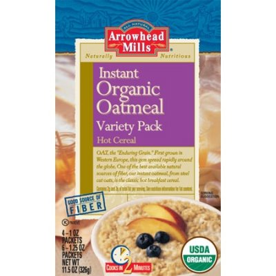 Hot Cereal, Instant, Variety Pack