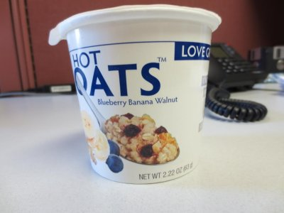 Hot Oats, Blueberry Banana Walnut Oats