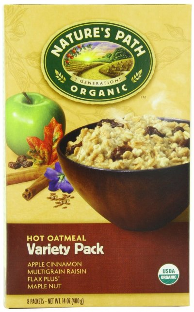 Instant Hot Oatmeal, Variety Pack