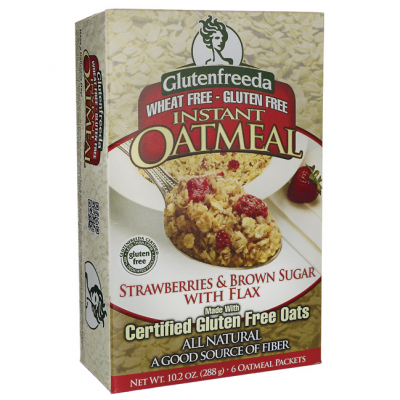 Instant Oatmeal Brown Sugar & Flax