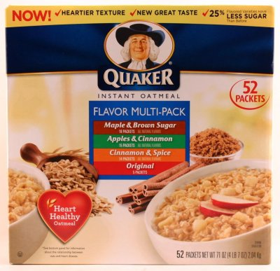 Instant Oatmeal Flavor Multi Pack