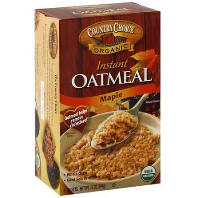 Instant Oatmeal,Organic Maple & Spice 8 Packets