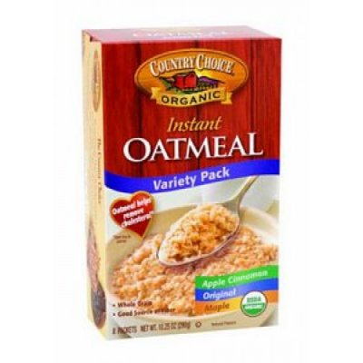 Organic Variety Pack Instant Oatmeal