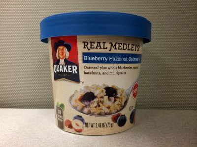 Real Medleys, Blueberry Hazelnut Oatmeal