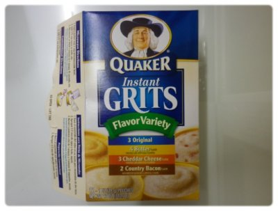 Country Grits, Instant, Cheddar Cheese Flavor