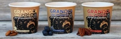 Hot Or Cold Granola Unleashed, Wild Blueberry Flax