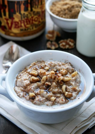 Hot Wheat Cereal, Maple & Brown Sugar