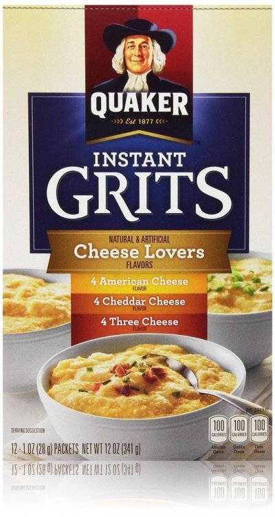 Instant Grits, Cheese Lovers