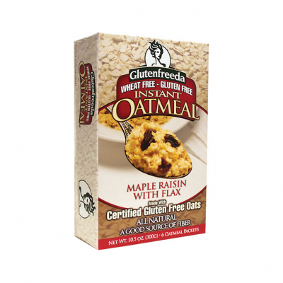 Instant Oatmeal, Maple Raisin With Flax
