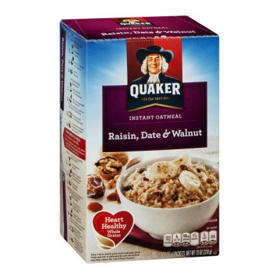 Instant Oatmeal, Raisin, Date & Walnut
