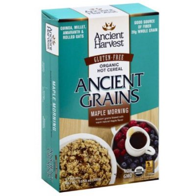 Organic Hot Cereal, Ancient Grains, Maple Morning