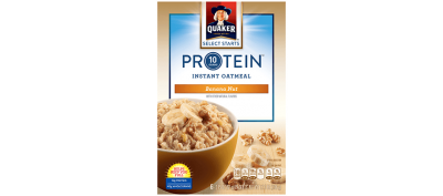 Protein Instant Oatmeal, Banana Nut