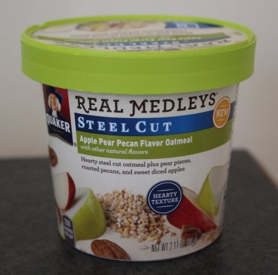 Real Medleys, Steel Cut, Cranberry Vanilla Almond Flavor Oatmeal
