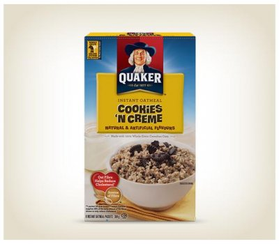 Instant Oatmeal, Artificial Fruit And Cream Flavors, Variety Pack