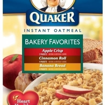 Instant Oatmeal, Bakery Favorites, Variety Pack