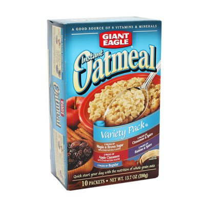Instant Oatmeal, Variety Pack