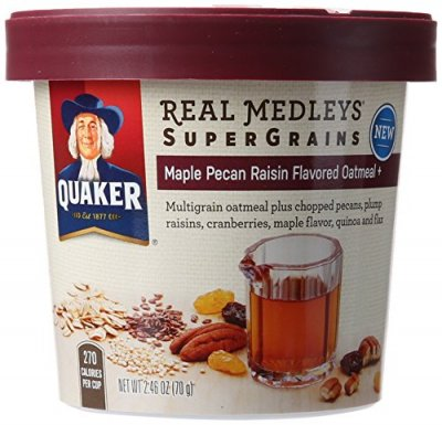 Supergrains, Maple Pecan Raisin Flavored Oatmeal