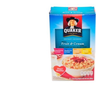 Instant Oatmeal,Fruit & Cream Variety 10 Pk