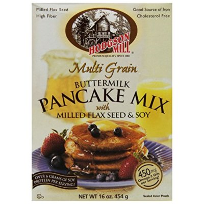 Multi Grain Buttermilk Pancake Mix With Milled Flax Seed & Soy