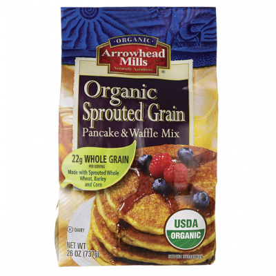 Pancake & Waffle Mix, Organic Sprouted Grain