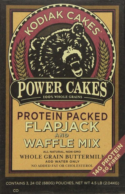 Power Cakes,  Flapjack And Waffle Mix