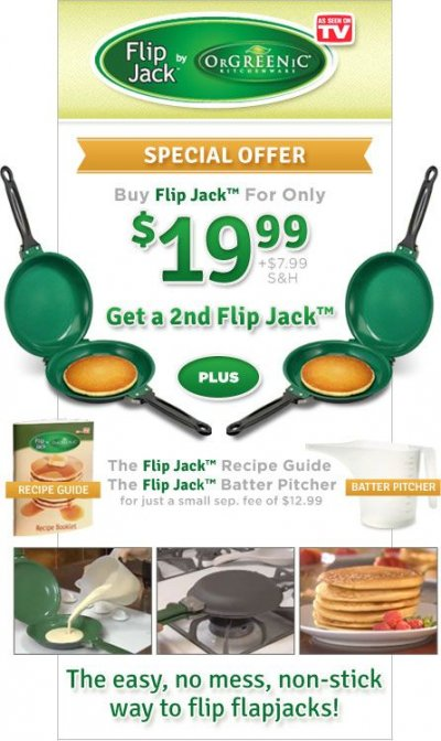Organic Flip For Flap Jacks Pancake Mix