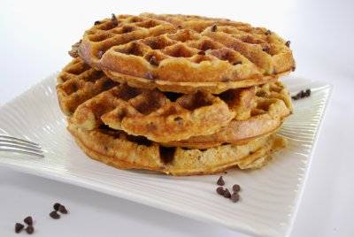 Waffles, Chocolate Chip