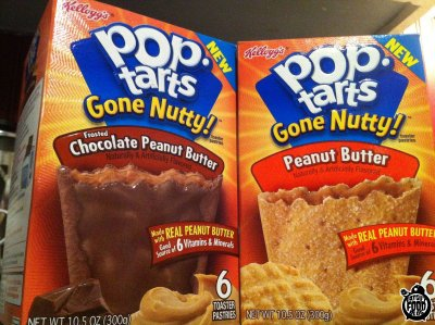 Gone Nutty! Frosted Chocolate Peanut Butter