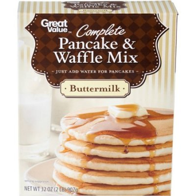 Pancake & Waffle Mix, Buttermilk, Complete