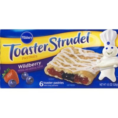 Toaster Pastries,Frosted Wildberry - 6 Ct