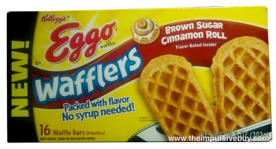 Wafflers, Brown Sugar Cinnamon Roll