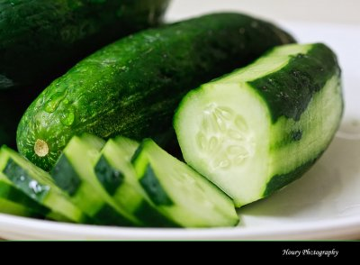 Cucumber, Sliced