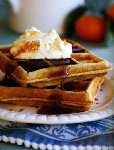 Ancient Grains Waffles