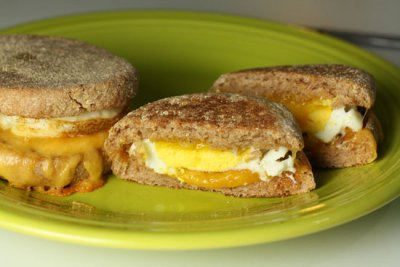Breakfast Sandwiches - Egg & Cheese