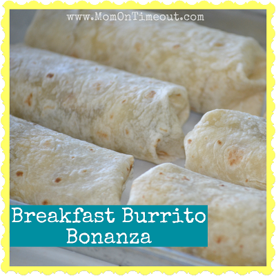 Functional Breakfast Burrito