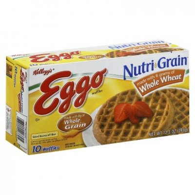 Nutri-Grain Waffles, Whole Wheat
